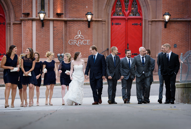 Maine Wedding Photography at Grace in Portland, ME