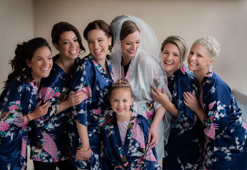 Bridesmaids - Maine Wedding Photographer Joshua Atticks