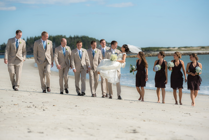 Wedding at the Sprague Farm in Cape Elizabeth