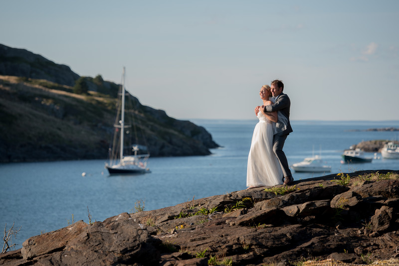 Monhegan Island Wedding Photography