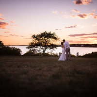 Sprague farm wedding