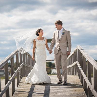 Wedding at Ram Island Farm, Cape Elizabeth