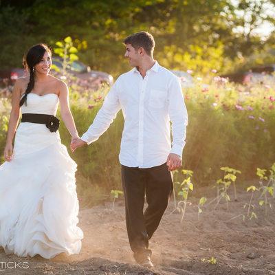Maine wedding at Broadturn Farm