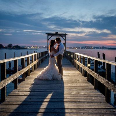 Peaks Island Maine Wedding