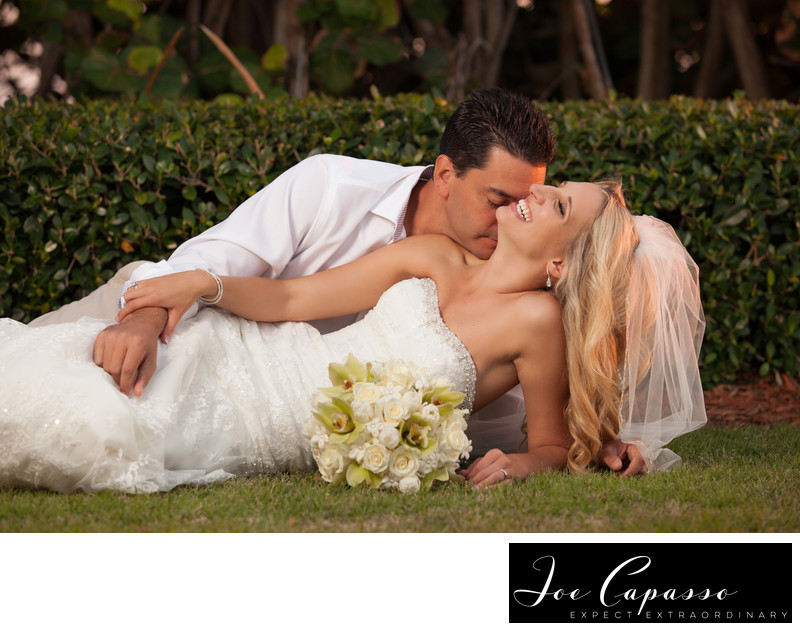 LaPlaya Beach and Golf Resort Lawn Wedding Ceremony