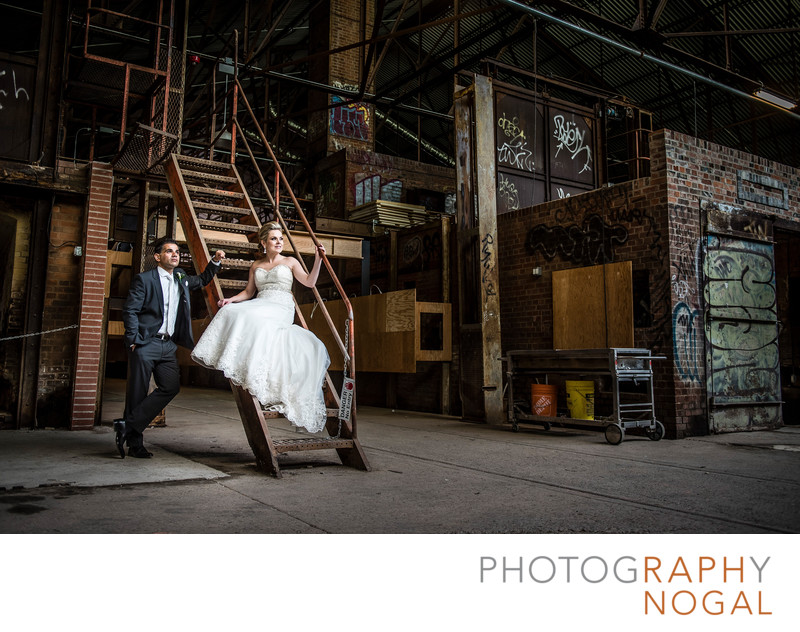 Wedding Photos at the Evergreen Brickworks in Toronto