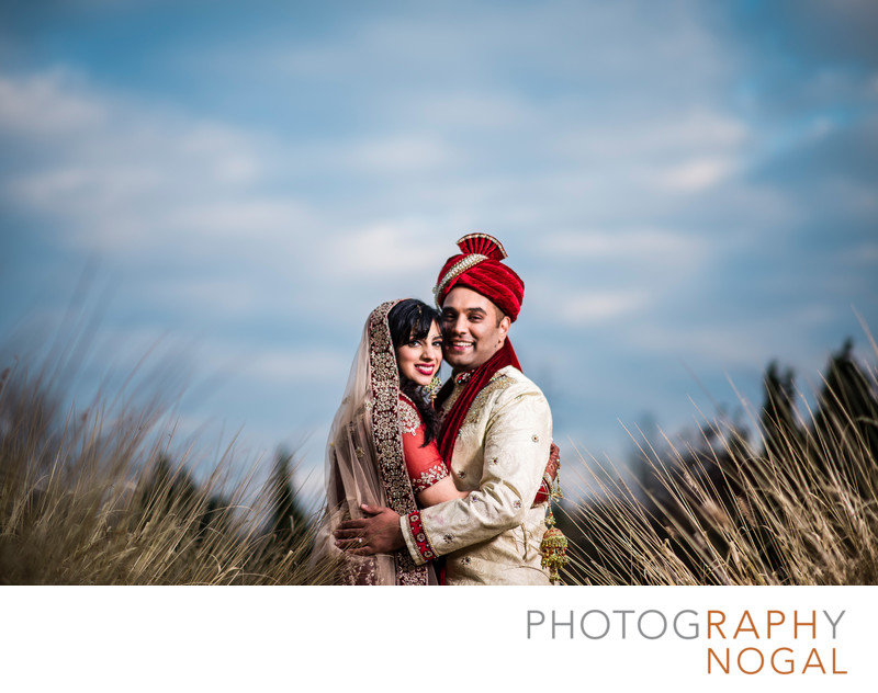 Indian Wedding Couple at Riverwood Conservancy