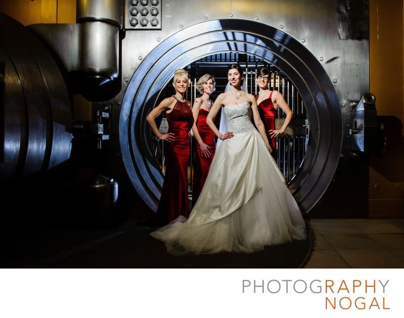 Bridesmaids at the Bank Vault at One King West