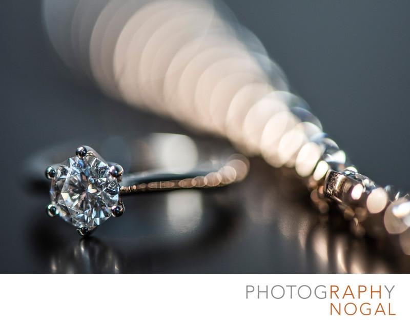 Diamond Ring and Wedding Bracelet