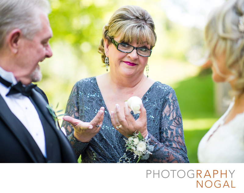 Mom Breaks Dad's Boutonniere