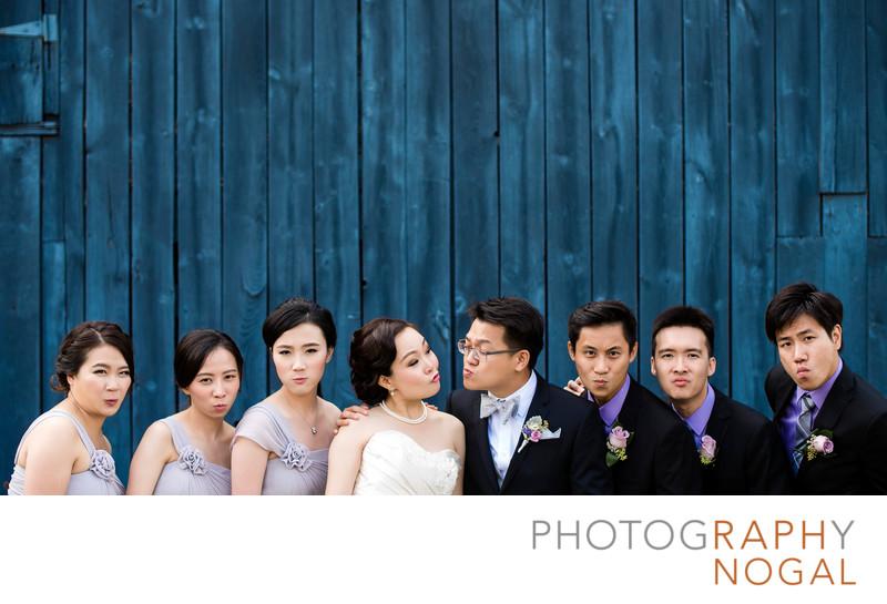 Wedding Party Best Blue Steel