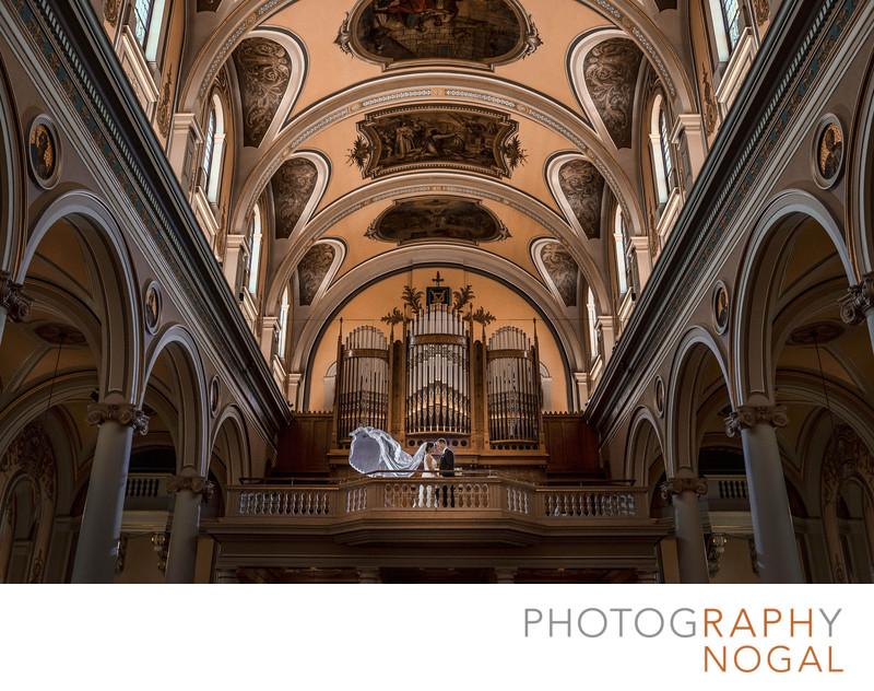 Wedding at St. Paul's Basilica Church in Toronto