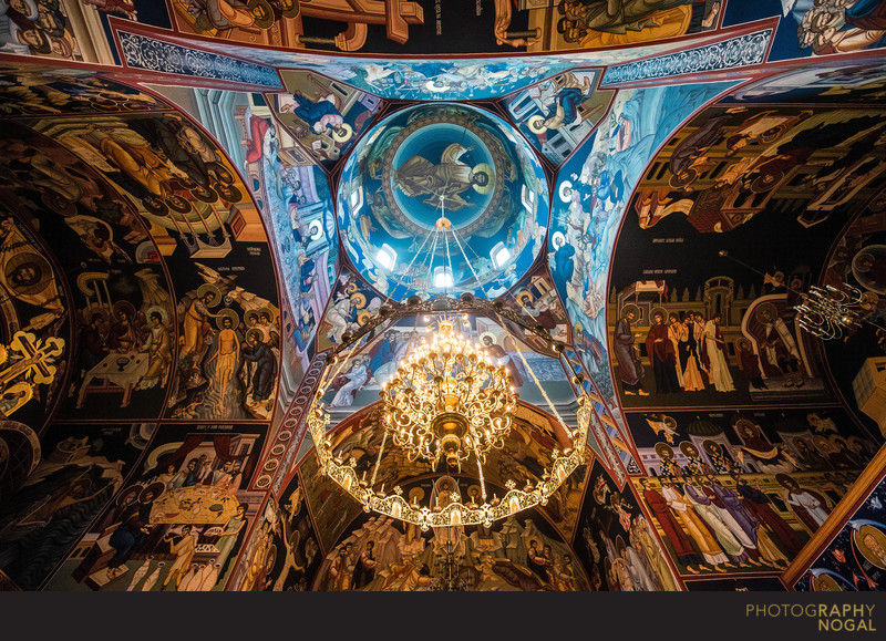 The Ceiling of Serbian Orthodox Diocese of Canada