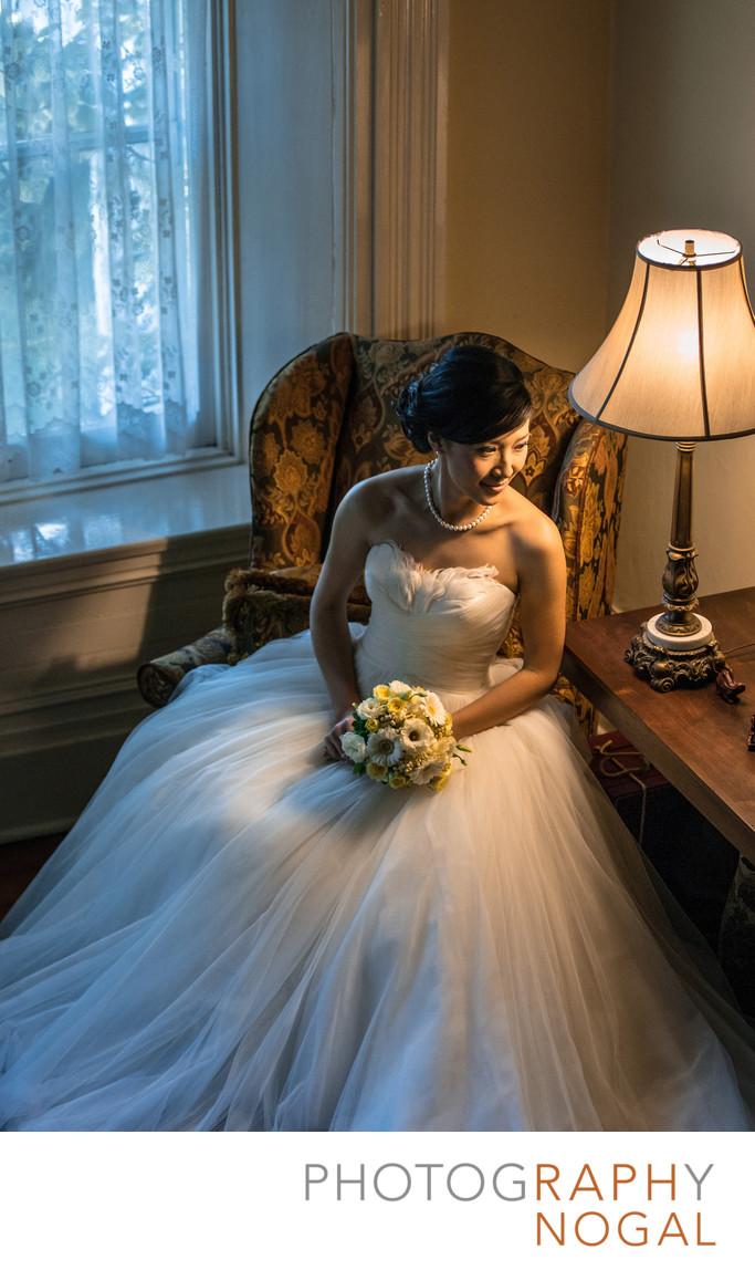 Bride Near A Lamp at Grand Victorian