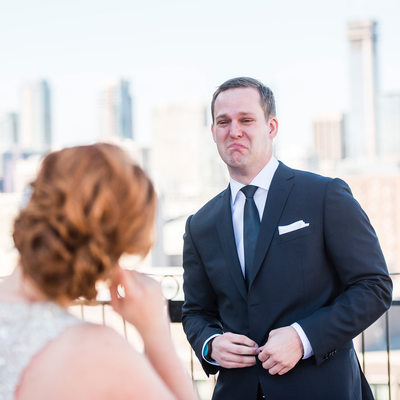 Groom's Reaction After Seeing His Bride At First Look
