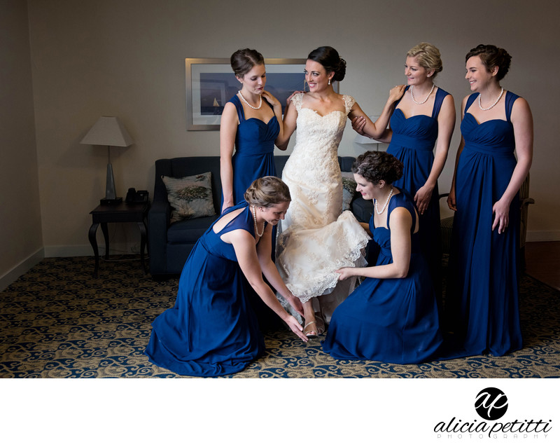 Newport Beach Hotel and Suites Wedding Photography
