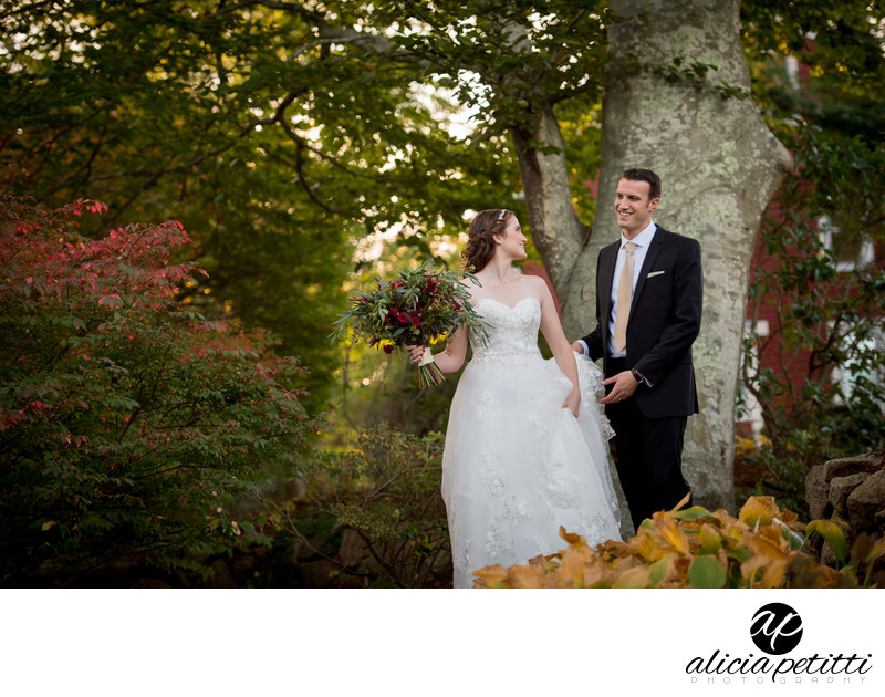 Wedding Pictures at The Coonamessett Inn in Falmouth