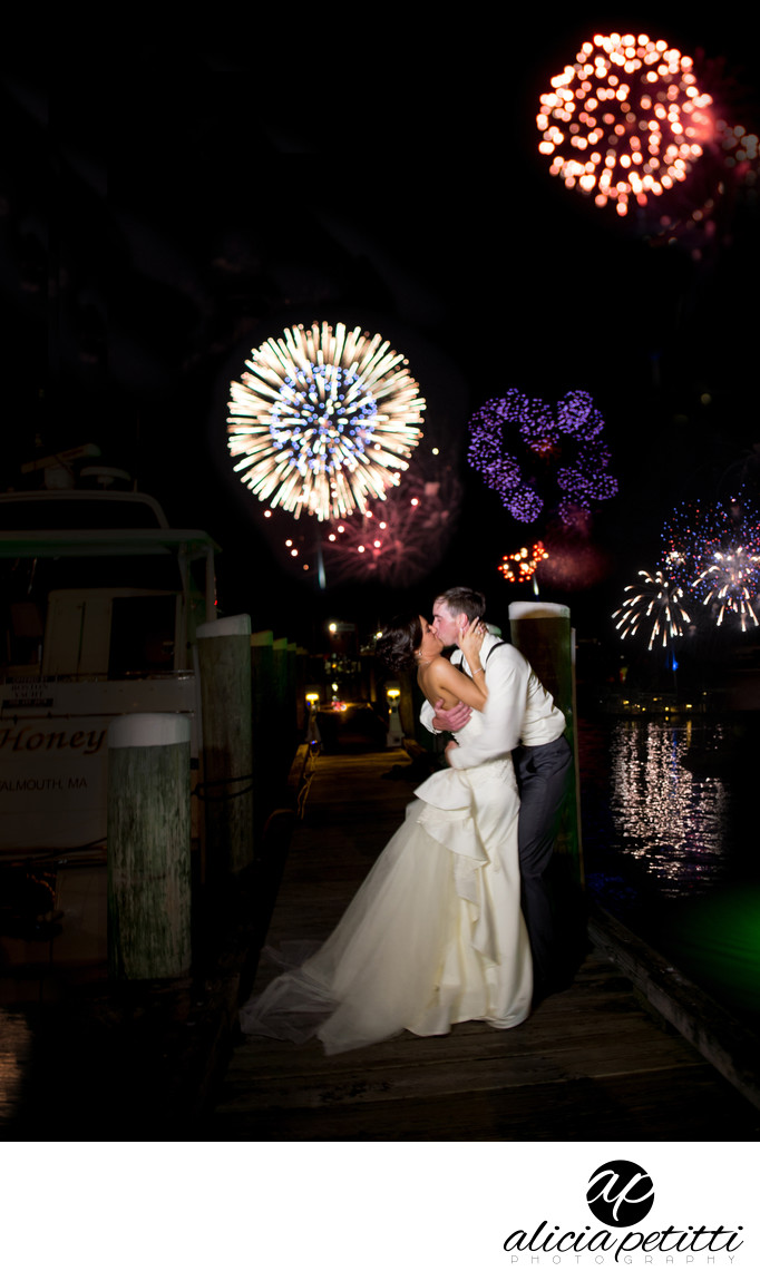The Flying Bridge 4th of July Wedding