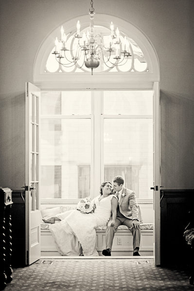 The Hotel Northampton Wedding Photograph