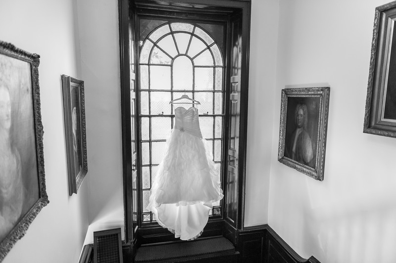 Wedding Dress at Mosborough Hall