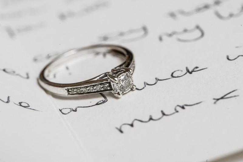 Peak Edge Wedding Engagement Ring