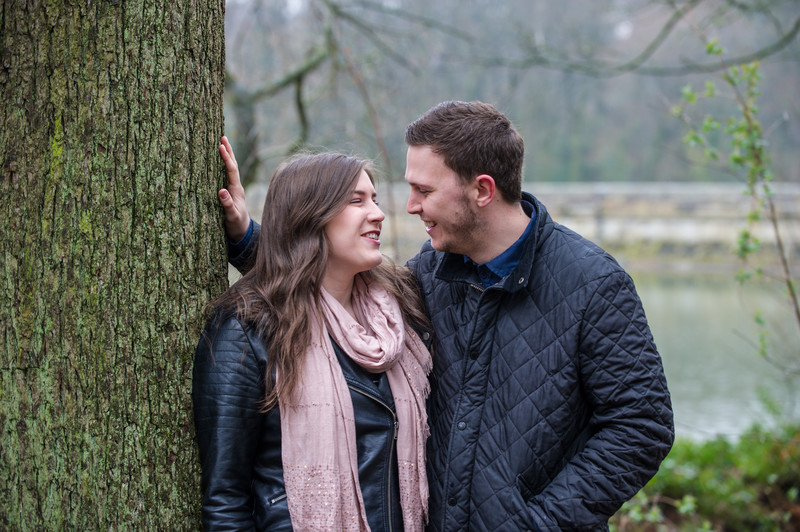 Linacre Chesterfield Engagement Photography