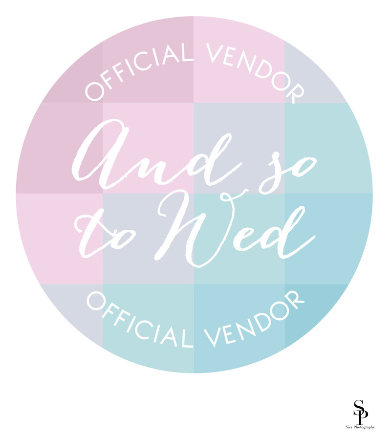 And so to Wed official supplier logo