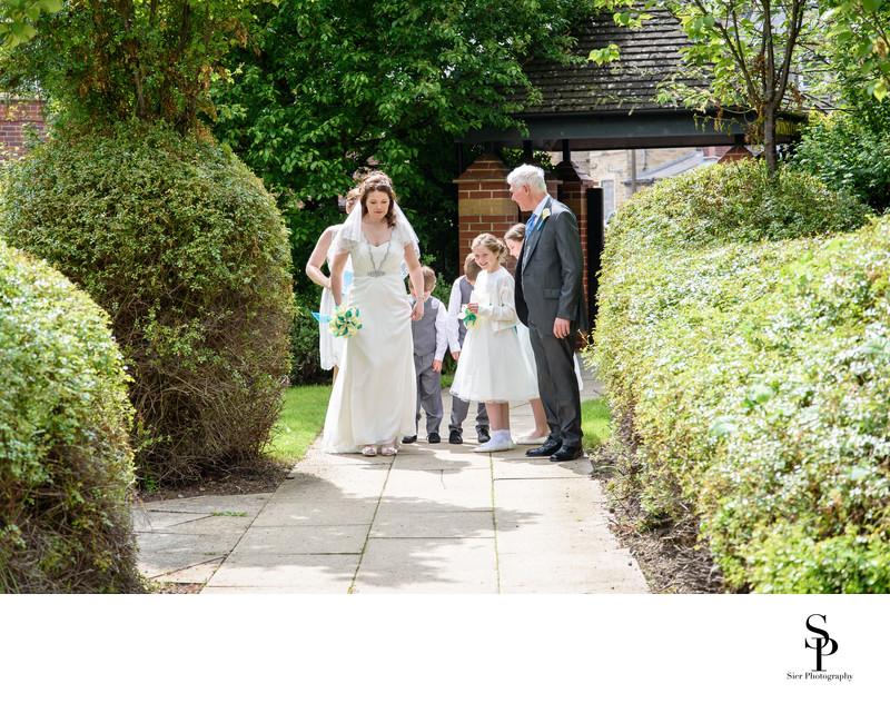 Sheffield Wedding Photography St Vincents