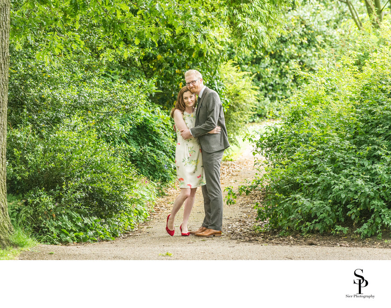 Engagement in the Botanical Gardens Sheffield
