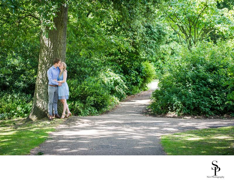Engagement Photography Botanical Gardens Sheffield