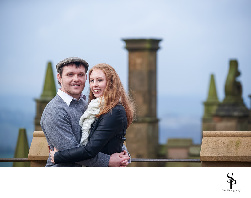 Wedding Photographer Sheffield at Castle Engagement