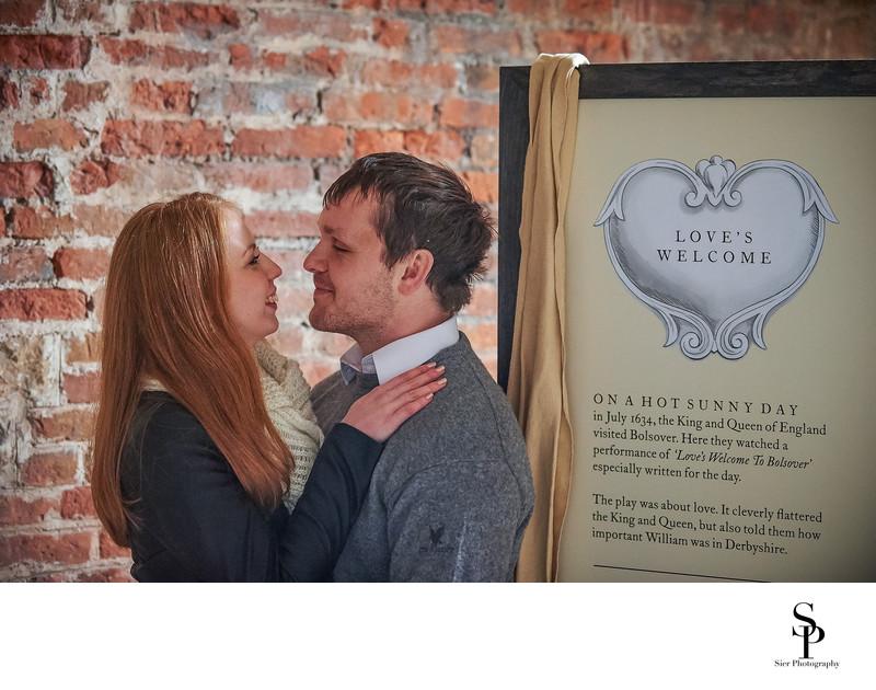 Bolsover Castle Engagement Photo