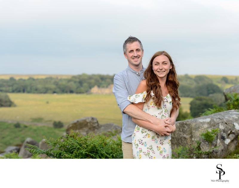 Derbyshire engagement photography