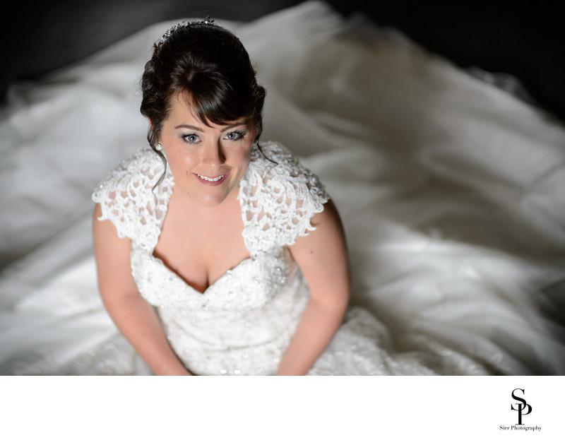 wedding photography kenwood hall bridal portrait