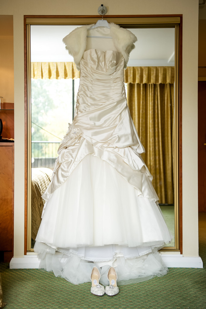Wedding Dress at Kenwood Hall