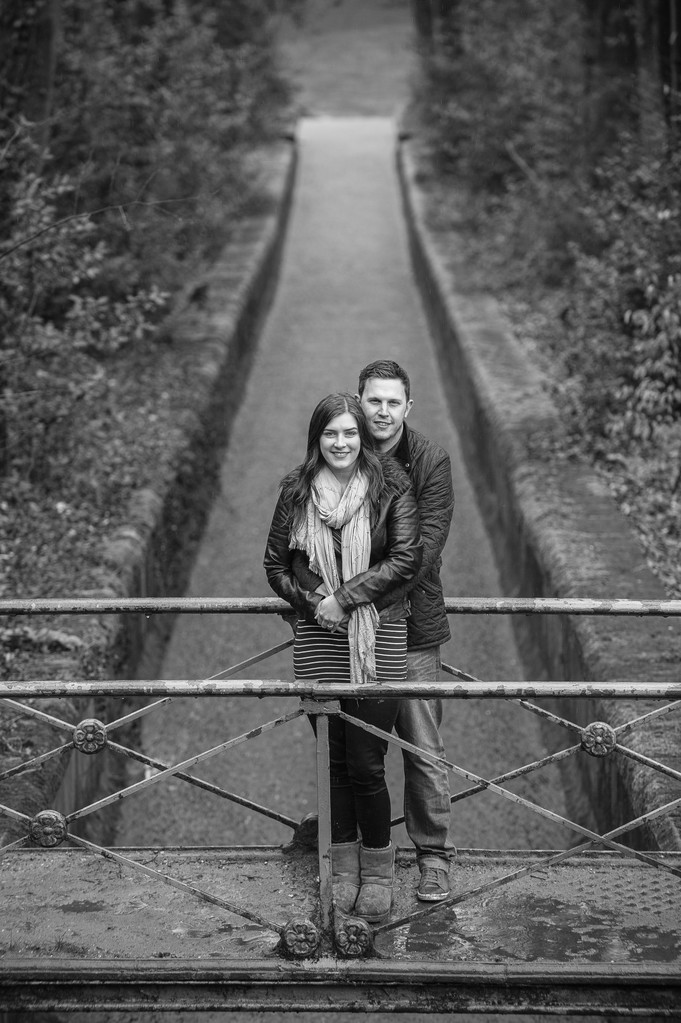 Linacre Reservoirs Engagement Photography