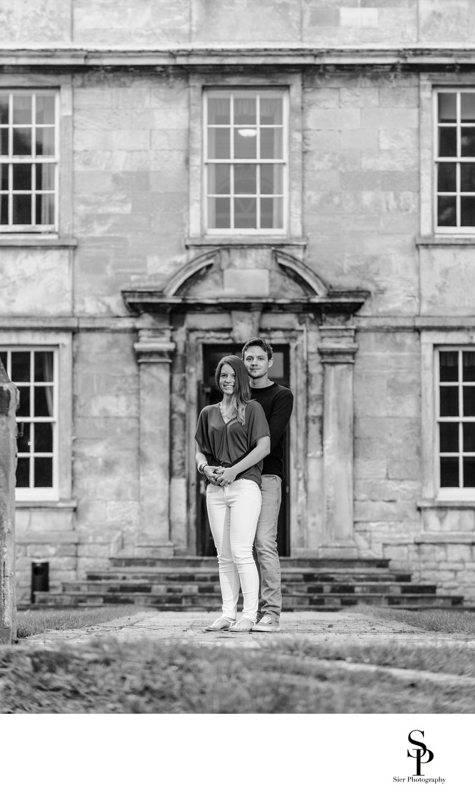 Hellaby Hall Engagement Photographer