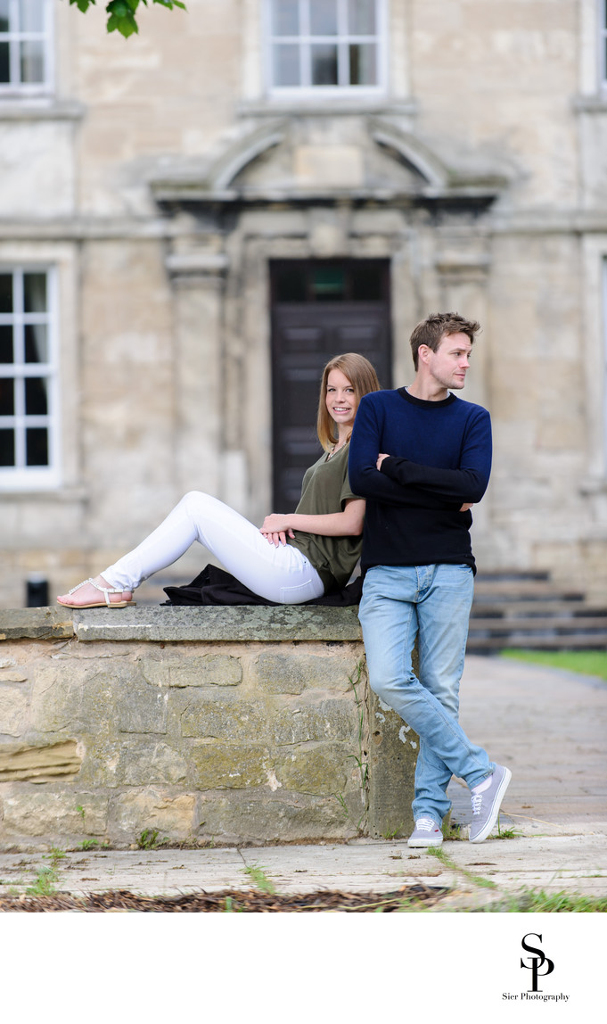 Sheffield Engagement Photography Hellaby Hall