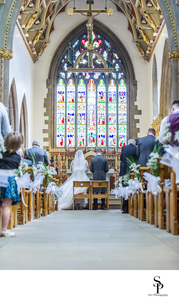 Wedding photography at Sheffield Cathedral
