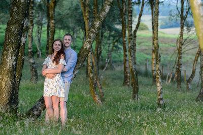 Engagement photography derbyshire
