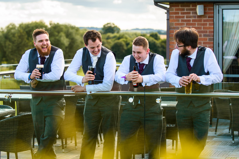 NOTTINGHAMSHIRE GOLF CLUB WEDDING PHOTOGRAPHY