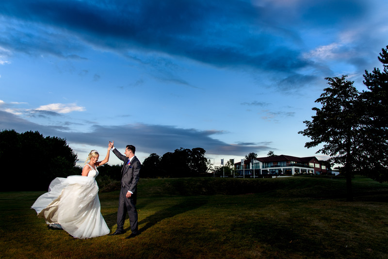 Nottinghamshire Golf Club Wedding Photos