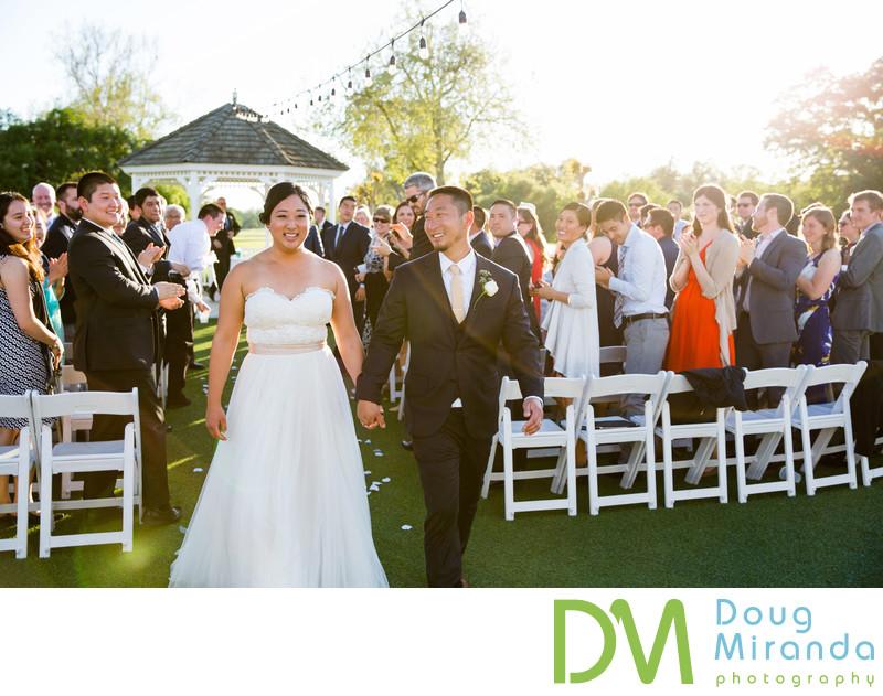 Haggain Oaks Wedding Ceremony Photographer