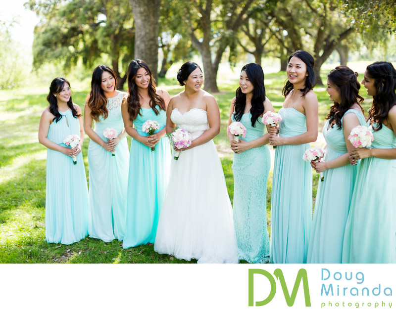 Wedding photos at Haggin Oaks Pavilion