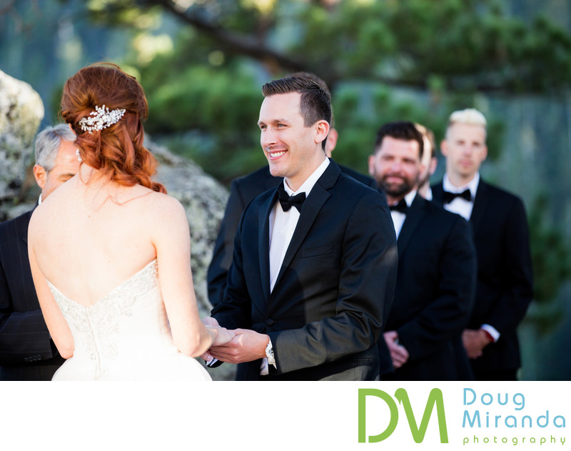 The Ridge Tahoe Wedding Ceremony Photos