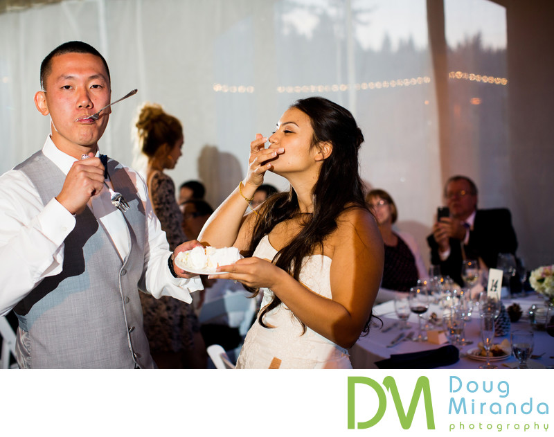 Wedding Reception photography At Northstar
