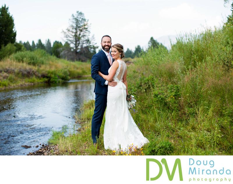Wedding photos at Lake Tahoe Golf Course