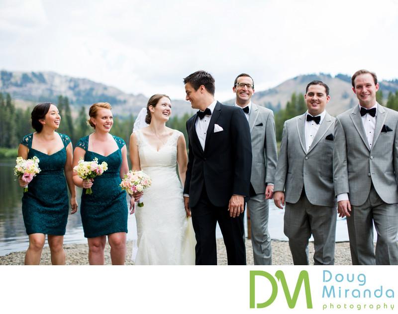 Lake Mary Sugar Bowl Bridal Party Wedding