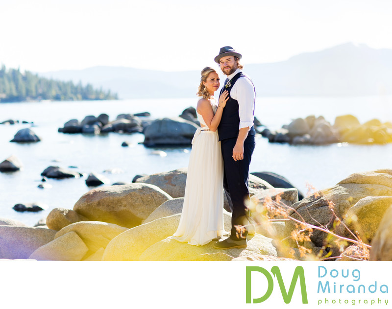 Lake Tahoe Beach Wedding Photographers