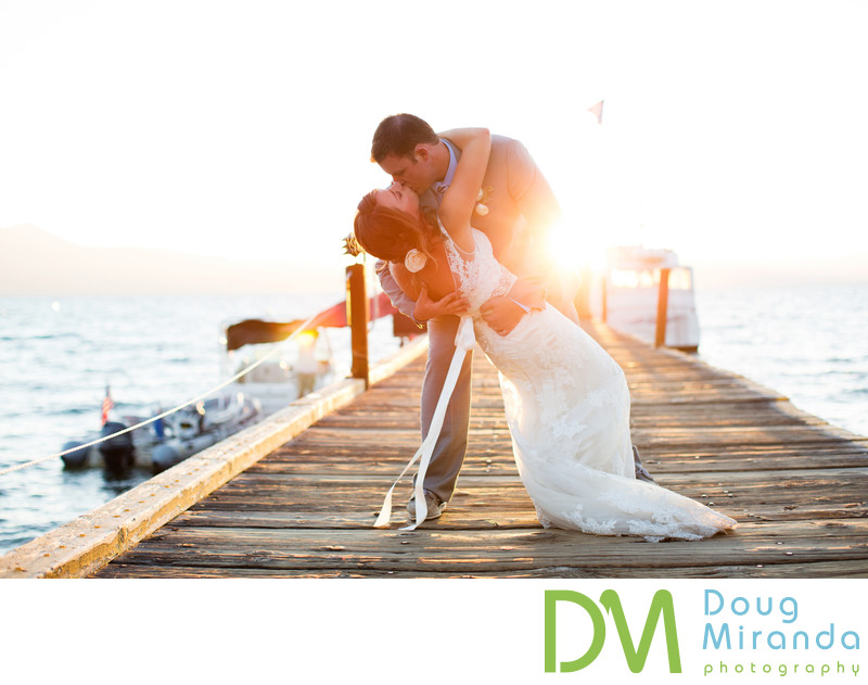 Wedding Photos at Zephyr Cove Resort